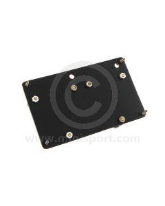Stopwatch Holding Panel - Aluminium Medium Dual